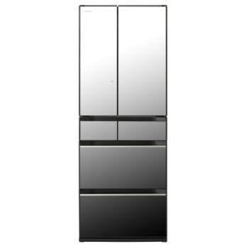R-KX57K-X 冷蔵庫 ぴったりセレクト KXタイプ クリスタルミラー [6ドア /観音開きタイプ /567L]