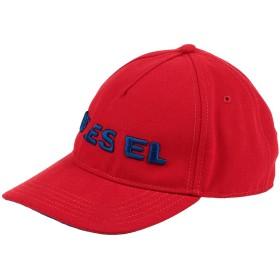 《期間限定 セール開催中》DIESEL メンズ 帽子 レッド I ポリエステル 100%