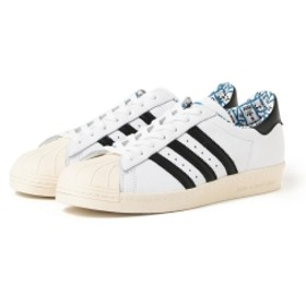 adidas × have a good time / Superstar 80S メンズ スニーカー WHITE 26