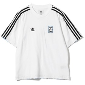 adidas × have a good time / スリーライン Tシャツ メンズ Tシャツ WHITE O