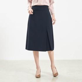 スカート レディース 大きいサイズ 40代 30代 春 スーツ ストレッチ おしゃれ きれいめ エレガント ブラック