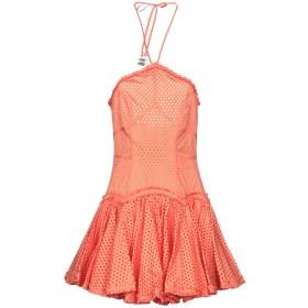 《期間限定セール開催中!》DSQUARED2 レディース ミニワンピース&ドレス オレンジ 40 コットン 100%