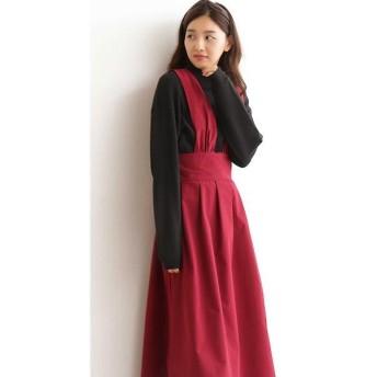 N.Natural Beauty Basic / エヌ ナチュラルビューティーベーシック マキシジャンパースカート