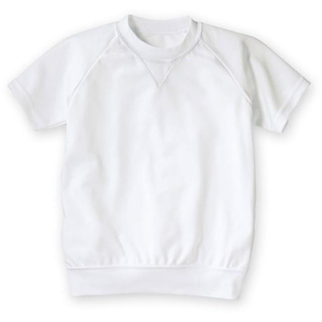 吸汗速乾。抗菌防臭。UVカット。丸首。半袖 体操服シャツ 体操服