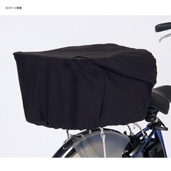 パナソニック 自転車バッグ ロールトップ式リアバスケットカバー ブラック