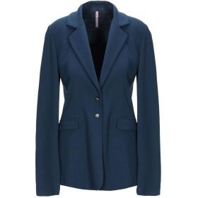 《期間限定セール中》SCEE by TWINSET レディース テーラードジャケット ブルー M レーヨン 62% / ナイロン 31% / ポリウレタン 7%