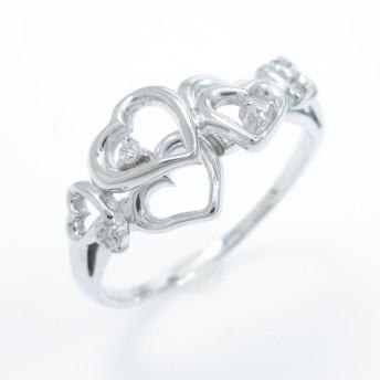 サマンサティアラ ハート ダイヤモンドリング