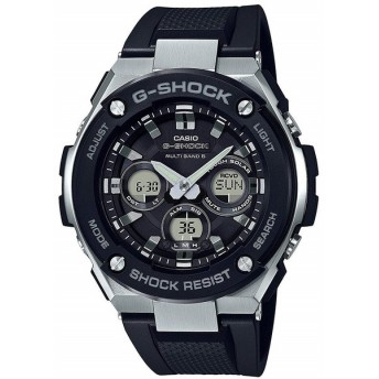CASIO/カシオ G-SHOCK G-STEEL 電波ソーラー 腕時計 GST-W300-1AER 海外輸入モデル◆