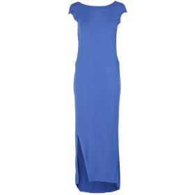 《期間限定 セール開催中》MANILA GRACE レディース ロングワンピース&ドレス ブルー 1 レーヨン 95% / ポリウレタン 5%