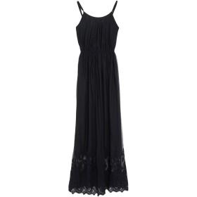 《期間限定 セール開催中》SILVIAN HEACH レディース ロングワンピース&ドレス ブラック XXS ポリエステル 100%