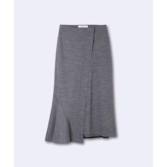 INED / 《INED international collection》ウールアビガイルポンチアシメトリースカート