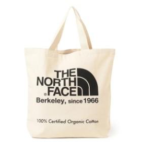 THE NORTH FACE / オーガニックコットン トートバッグ メンズ トートバッグ ナチュラルxブラック ONE SIZE