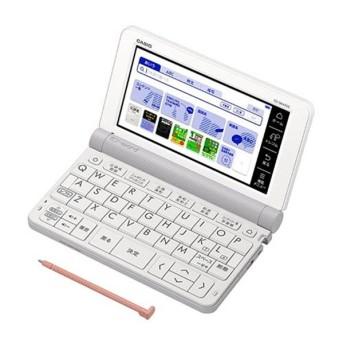 【オススメ商品!】カシオ計算機 電子辞書 XD-SR4900WE ホワイト