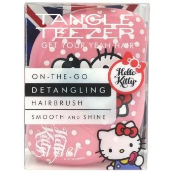タングルティーザー TANGLE TEEZER コンパクトスタイラー ハローキティ ピンク COMPACT STYLER HAIR BRUSH HELLO KITTY ヘアケア ヘアブラシ