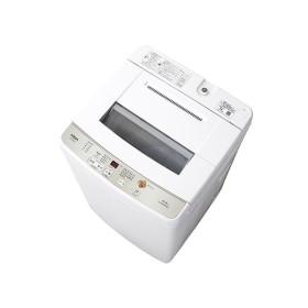 (長期無料保証/標準設置無料) アクア 全自動洗濯機 AQW-S60G(W) ホワイト 洗濯容量:6.0kg