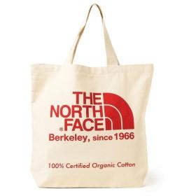 ビームス メン THE NORTH FACE / オーガニックコットン トートバッグ メンズ ナチュラルXTNFレッド ONESIZE 【BEAMS MEN】