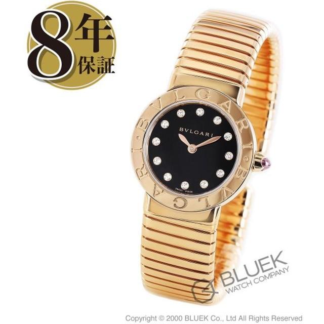 e1491af327 ブルガリ ブルガリブルガリ トゥボガス ダイヤ PG金無垢 腕時計 レディース BVLGARI BBLP262TBGG/12.M_8