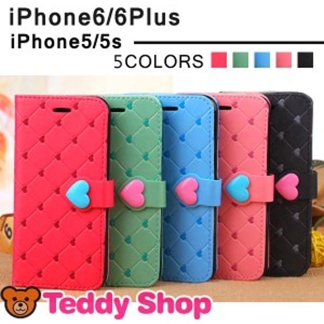送料無料iPhone6ケース SE iphone6plusケース ハート アイフォン6プラス iphone5sケース アイフォン5s スマホケース 手帳型iPhoneカバー