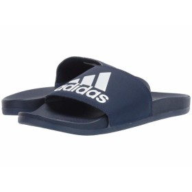 brand new 9b4d5 732e5 アディダス サンダル シューズ メンズ Adilette Cloudfoam Plus Logo Slides Dark BlueFootwear  WhiteDark