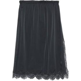 《期間限定セール開催中!》ICONS レディース 7分丈スカート ブラック 40 シルク 100% / コットン / ナイロン