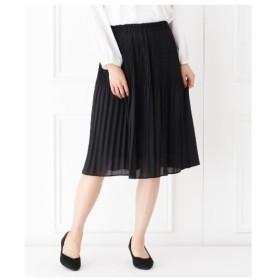 HusHusH(Ladies)(ハッシュアッシュ(レディース))【フォーマル・結婚式対応】きれいめプリーツスカート