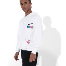 【プーマ公式通販】 プーマ PUMA x BRADLEY THEODORE HOODIE メンズ Puma White  CLOTHING PUMA.com