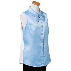 あたかもパウダーサテンシャツ(消臭テープ付) (大きいサイズレディース)Shirts, 衫, 襯衫, plus size