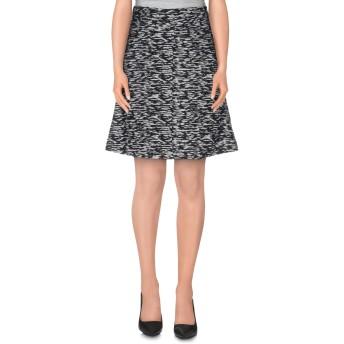《セール開催中》JUST CAVALLI レディース ひざ丈スカート ブラック 36 ウール 43% / ポリエステル 32% / アクリル 14% / 毛(アルパカ) 11%