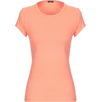 《期間限定セール開催中!》ASPESI レディース T シャツ オレンジ M コットン 100%