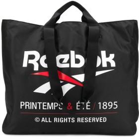 Reebok ロゴ トートバッグ - ブラック