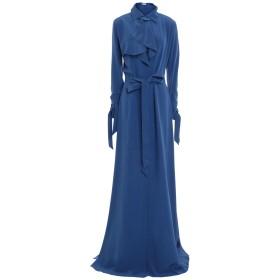 《期間限定 セール開催中》MUGLER レディース ロングワンピース&ドレス ブルー 34 シルク 100%