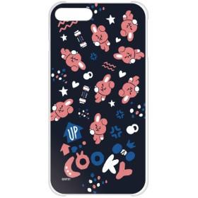 BT21 【COOKY(パターン)】 ハード iPhone8Plus/7Plus クリアケース