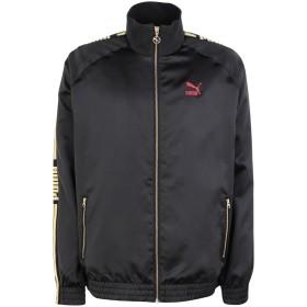 《セール開催中》PUMA メンズ ブルゾン ブラック S ポリエステル 100% LUXE PACK Track Jacket