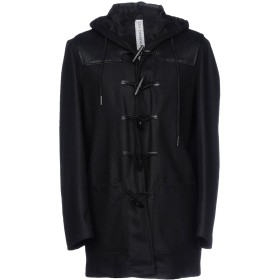 《期間限定 セール開催中》HAMAKI-HO メンズ コート ブラック 48 ウール 50% / ポリエステル 35% / ナイロン 15% / 革