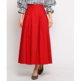 THE SHOP TK(Women)(ザ ショップ ティーケー(ウィメン)) チノ風フレアスカート