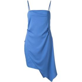Michelle Mason アシンメトリーミニドレス - ブルー