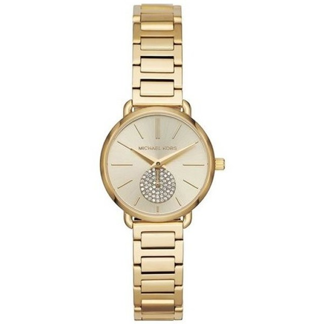 22e0153a4eba 【並行輸入品】MICHAEL KORS マイケルコース 腕時計 MK3838 レディース PORTIA ポーシャ クオーツ