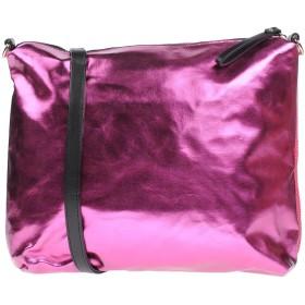 《期間限定 セール開催中》GOOD MOOD レディース ハンドバッグ フューシャ 紡績繊維 / 革