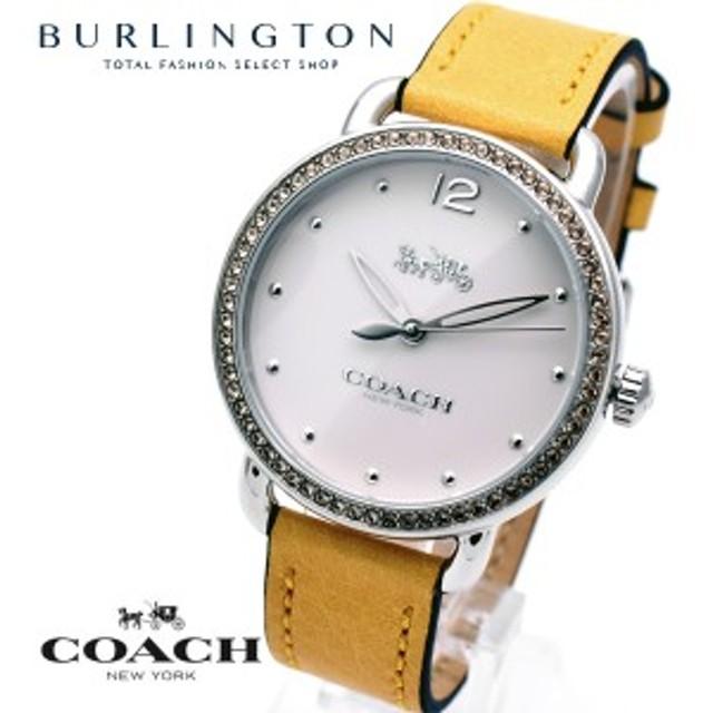 27e034189cd0 コーチ 腕時計 レディース COACH 時計 デランシー イエロー 黄色 人気 ブランド 女性 ギフト プレゼント