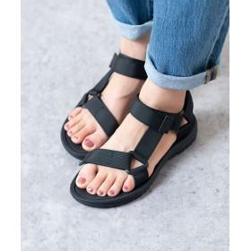 サンダル - Outletshoes こどもから大人まで履ける豊富なサイズ展開 ベルクロ スポーツ サンダル ベルクロ 歩きやすい おしゃれ ヒール アウトドア痛くない 大きいサイズ 小さいサイズ 黒 靴下 スポーツ ストラップ 滑り止め リンクコーデ