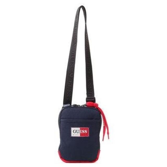 ゲス GUESS LOGO CASUAL SHOULDER BAG (ショルダーバッグ) (NAVY)