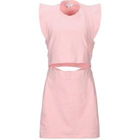 《期間限定セール開催中!》IRO レディース ミニワンピース&ドレス ピンク 40 コットン 95% / ポリウレタン 5%