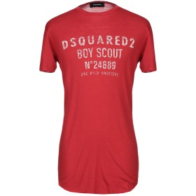 《セール開催中》DSQUARED2 メンズ T シャツ レッド S バージンウール 100%