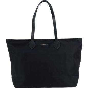 《セール開催中》COCCINELLE レディース ハンドバッグ ブラック 紡績繊維 / 革