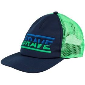 《期間限定 セール開催中》DIESEL メンズ 帽子 ダークブルー I ポリエステル 100%