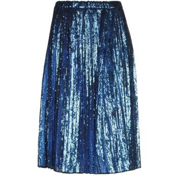 《セール開催中》N°21 レディース 7分丈スカート ブルー 38 ポリエステル 100%