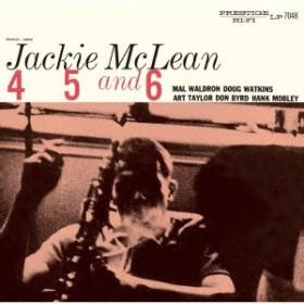 【CD】4,5&6/ジャッキー・マクリーン [UCCO-90416] ジヤツキー・マクリーン