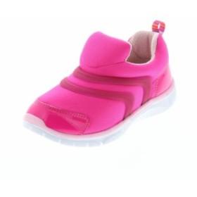 【安心の返品無料】ワイズ 3E 子供靴 キッズスニーカー スリッポン MONO モノ  MN-1003 PINK ピンク 桃