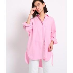 DRESSTERIOR / ドレステリア 【洗える】カラーダンガリービッグシャツ