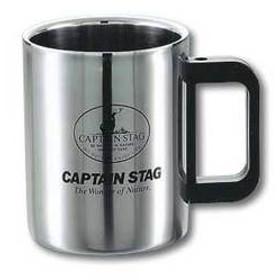 キャプテンスタッグ カップ マレー ダブルステンマグカップ420ml